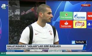 """Eren Derdiyok: """"Bu şekilde devam edersek iyi sonuçlar alacağımıza inanıyorum"""""""