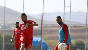 Sivasspor'da Villarreal maçı hazırlıkları