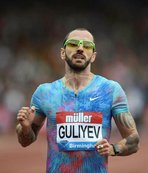 Guliyev yine birinci