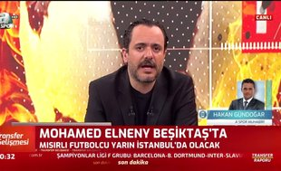 Mohamed Elneny Beşiktaş'ta