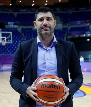 """Ömer Onan: """"A Milli Erkek Basketbol Takımı zirveyi hedefliyor"""""""