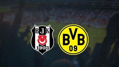 Beşiktaş - Borussia Dortmund maçı ne zaman? Beşiktaş maçı saat kaçta? Beşiktaş - Borussia Dortmund maçı hangi kanalda CANLI yayınlanacak? | BJK haberleri