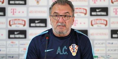 Ante Cacic'ten Lucescu'ya destek