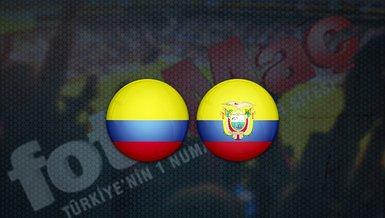 Kolombiya - Ekvator maçı ne zaman? Saat kaçta? Hangi kanalda canlı yayınlanacak?   Dünya Kupası Elemeleri