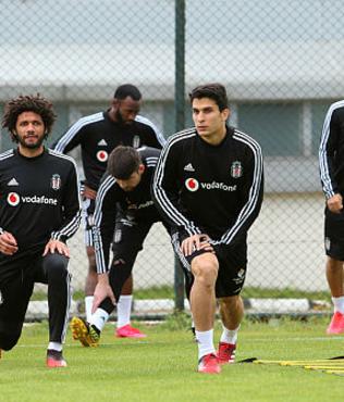 Beşiktaş'ta Antalyaspor maçı hazırlıkları devam ediyor