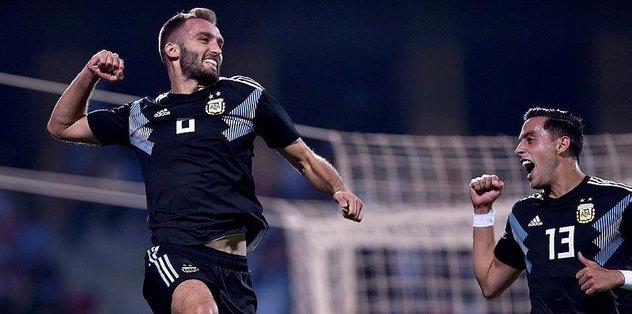 Arjantin Milli takımı, hazırlık maçında Irak'ı 4-0 mağlup etti