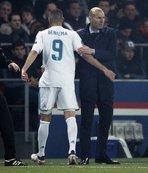 Zidane'dan Benzema açıklaması