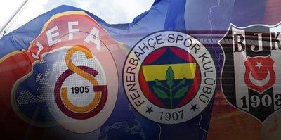 UEFA için gönderilecekler! Galatasaray, Fenerbahçe, Beşiktaş...