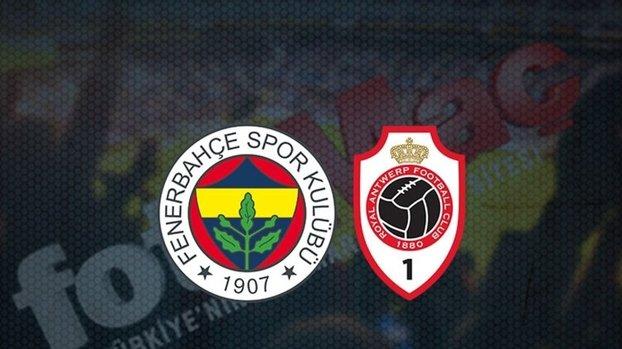 Fenerbahçe Antwerp maçı şifresiz izle