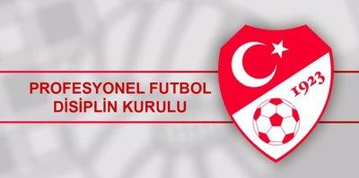 PFDK'dan Beşiktaş'a para cezası geldi