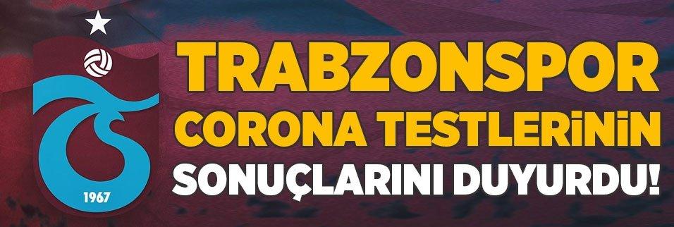Trabzonspor test sonuçlarını açıkladı!