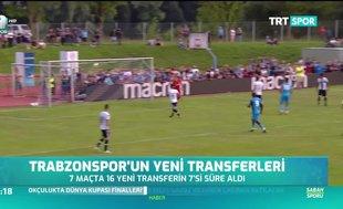 Trabzonspor'un yeni transferleri