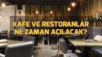 Kafe ve restoranlar açıldı mı?