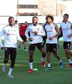 Beşiktaş'ta derbi hazırlıkları tamamlandı