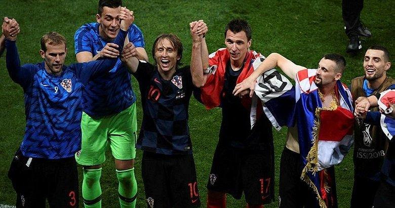 2018 Dünya Kupası, Hırvatistan'ın masalı!
