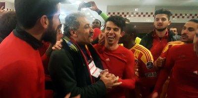 Kayserispor'da 4 golün çoşkusu