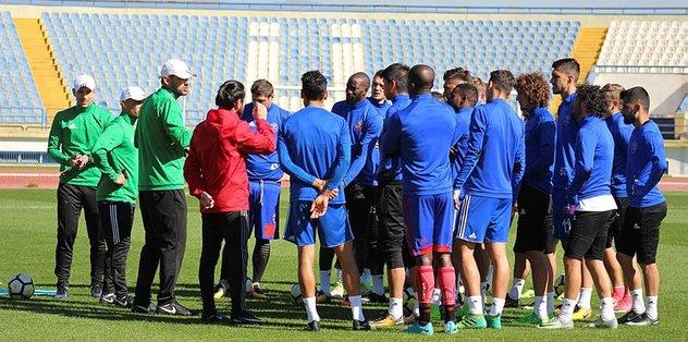 Karabükspor Kayserispor hazırlıklarını tamamladı