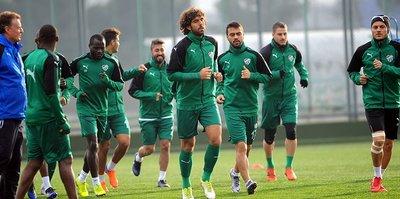 Bursaspor'da Fenerbahçe mesaisi başladı