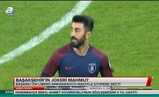 Başakşehir'in jokeri Mahmut