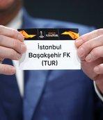 Başakşehir'in Avrupa Ligi'ndeki rakibi belli oldu!