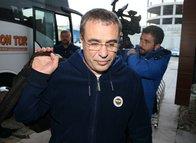 Fenerbahçe kafilesi Trabzon'da! Ersun Yanal...