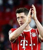 Bayern Münih Lewa'yı bırakmıyor