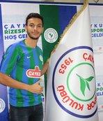 Çaykur Rizespor'da Talbi imzayı attı
