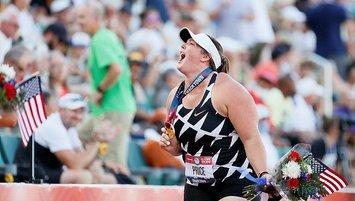 DeAnna Price çekiç atmada tarihin en iyi 2. derecesini yaptı