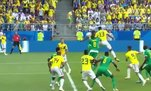 Fenerbahçe'nin anlaşmaya vardığı Yerry Mina'dan Senegal'i yıkan gol