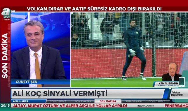 Kemal Belgin: Mehmet Topal'ı Milli Takıma ayıp olmasın diye kadrodan çıkarmadılar