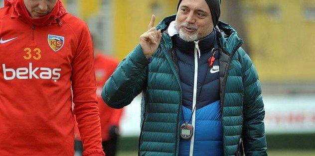 İstikbal Mobilya Kayserispor'da Gyan takımla birlikte çalıştı