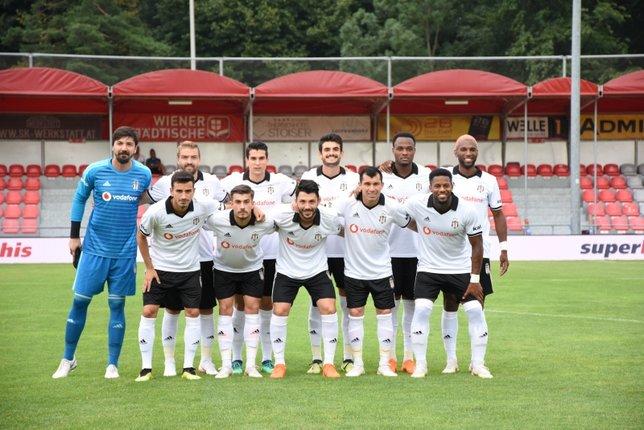 Kartal kampın son maçında kazandı! Beşiktaş 3-1 Krasnodar maç sonucu