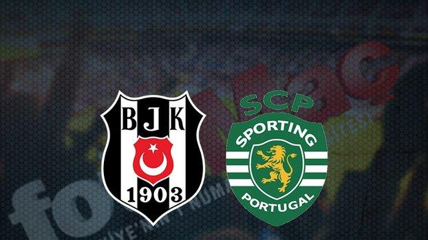 Beşiktaş - Sporting Lizbon maçı ŞİFRESİZ CANLI yayınlayan kanallar! Beşiktaş maçı hangi kanalda? Saat kaçta?