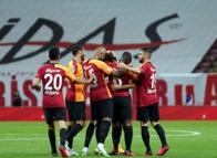 Galatasaray - Göztepe maçından öne çıkan kareler