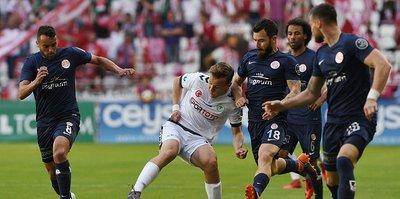 Antalyaspor-Konyaspor maçında gol sesi çıkmadı