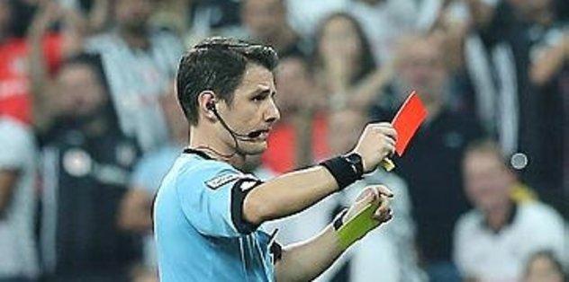 Beşiktaş'ta Medel'in gördüğü kırmızı kart tepki çekti!