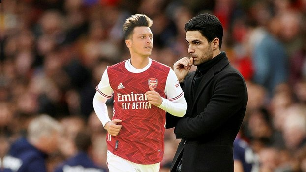Mikel Arteta'dan Mesut Özil'e yanıt: Vicdanım rahat #