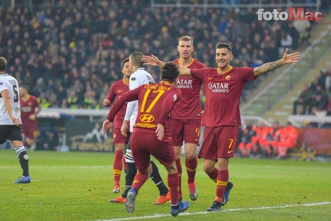 Cengiz Ünder AS Roma'ya rest çekti!