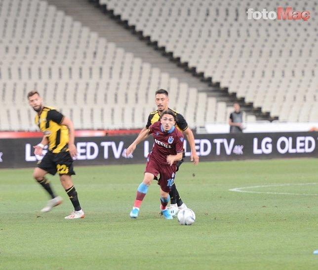 Trabzonspor'un yıldızı Abdülkadir Ömür'ü göz göre göre yaktılar!