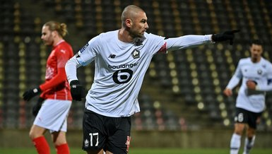 Lille beat Nimes 1-0 as Turkish forward Burak Yılmaz scores