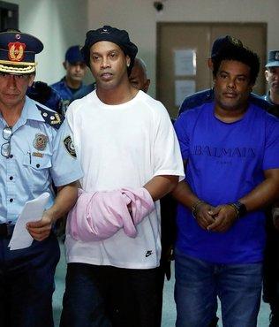 Ronaldinho'ya hapiste telefon hakkı tanındı! İlk onu aradı
