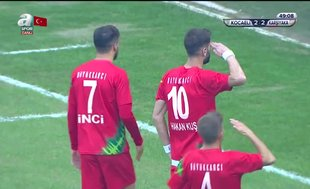Kocaelispor 2-2 Karşıyaka