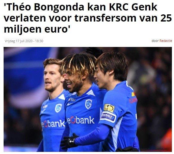 """fenerbahceye belcikada soke eden bongonda cevabi 25 milyona 1595068578221 - Fenerbahçe'ye Belçika'dan şoke eden Bongonda cevabı! """"25 milyona..."""""""