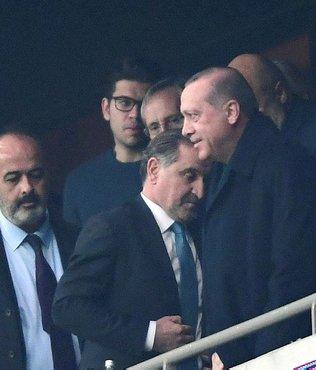 Beşiktaş'ın golü Devletin zirvesini ayağa kaldırdı!