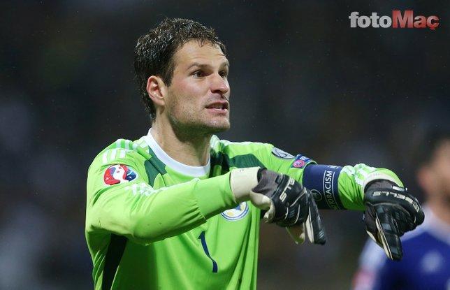Fenerbahçe Asmir Begovic transferini bitiriyor