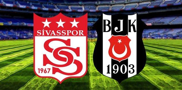 Sivasspor - Beşiktaş   CANLI