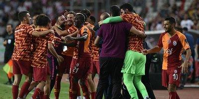 Maç Sonucu   Galatasaray 1-0 Antalyaspor   ÖZET