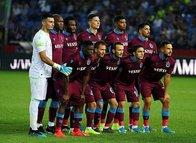 Trabzonspor-AEK maçından kareler