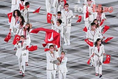 Son dakika spor haberi: 2020 Tokyo Olimpiyatları açılış töreninden dikkat çeken kareler!