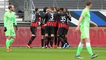 7 gollü maçta kazanan Frankfurt! Golleri izleyin